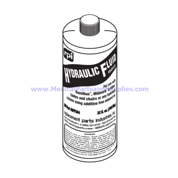 Hydraulic Fluid, Part RPF384 (OEM Parts 014-0056-00 or 014-0020-00)