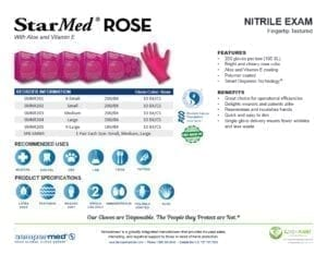 StarMed® ROSE Product Information Sheet