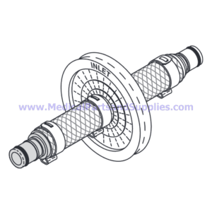 Air Filter Assembly, Part MTA001 (OEM Part MF01-0028)