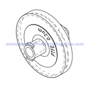 Air Filter, Part SDF025 (OEM Part 25-50703-001)