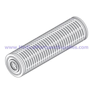 Prefilter Cartridge (0.45 Micron Absolute, Part MTF004 (OEM Part MF01-0015)