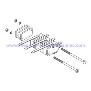 Micro-Switch Kit, Part TUK061 (OEM Part ELE036-0012)