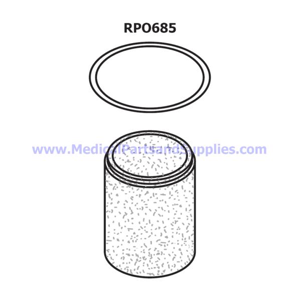 Particle Filter Element, Part CME085 (OEM Part 86193)