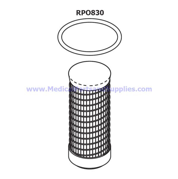 Filter Element for Air Techniques AirStar® Dental Compressors, Part CME103 (OEM Part 87366)