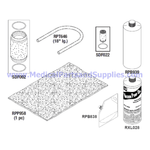 PM-1 (Preventive Maintenance) Kit for the Sterrad® 100S, Part SDK020 (OEM Part 05-06899-1-100)