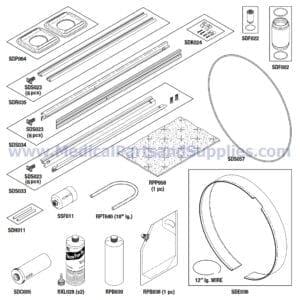 PM-2 Kit for the Sterrad® 100S, Part SDK060 (OEM Part 05-06899-2-200)