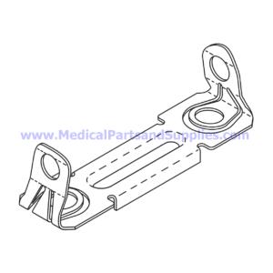 Capacitor Mounting Bracket, Part MIB186 (OEM Part 015-0412-00)