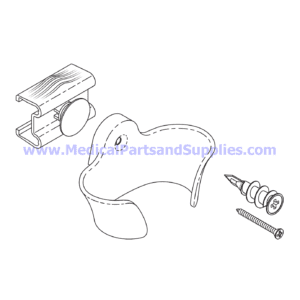 Hand Control Holster Kit, Part MIK252 (OEM Part 002-1474-00)