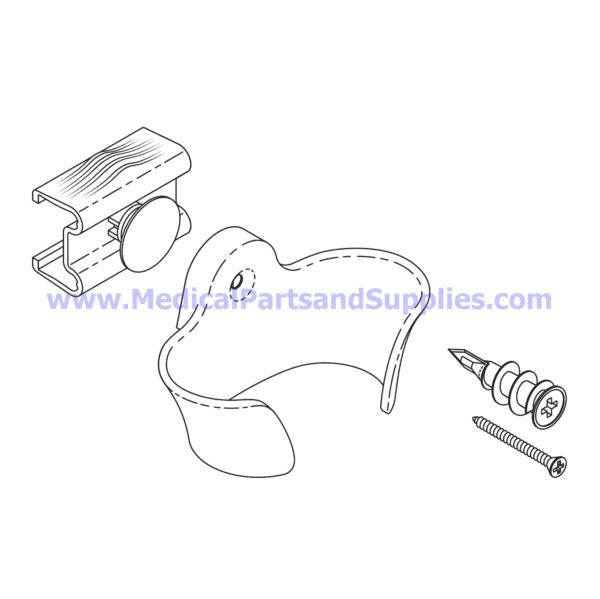 Hand Control Holster Kit, Part MIK252 (OEM Part 002-1474-00)