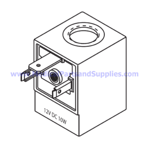 Magnetic Coil (10W), Part TUC083 (OEM Part 01810102)