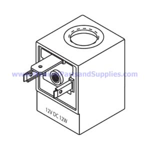 Magnetic Coil (12W), Part TUC087 (OEM Part 01810905)