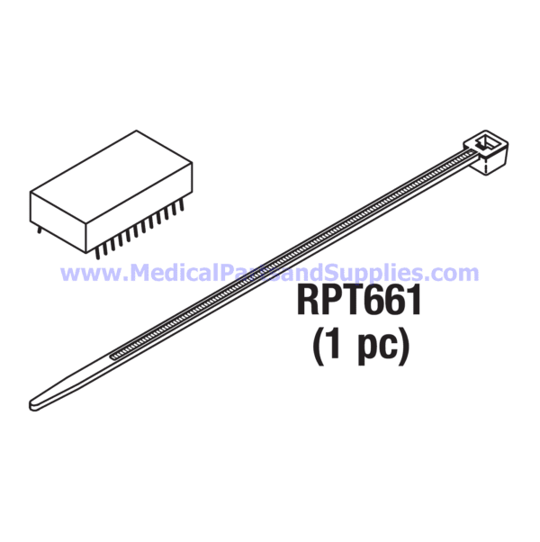 Clock Chip with Battery, Part TUC107 (OEM Part 0180202)