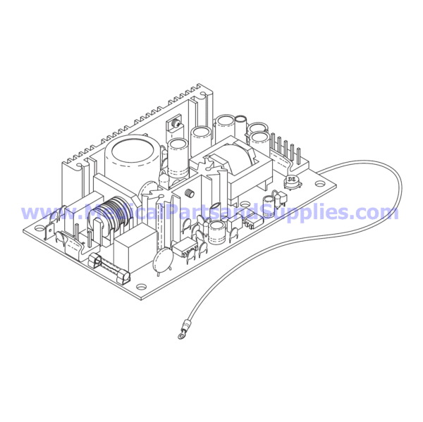 Power Supply, Part TUP106 (OEM Part 04400299)