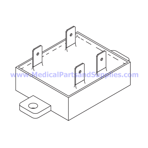Solid State Relay (Pump) for Tuttnauer® Automatic Autoclaves, Part TUR105 (Part 04400339)