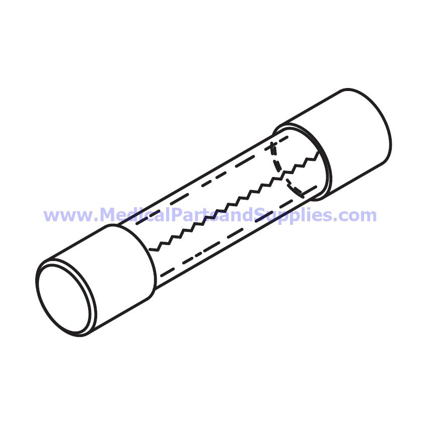 fast acting fuse  2a  250v   4 x 1 4 for the tuttnauer u00ae ez10  part rpf047  oem part ele035