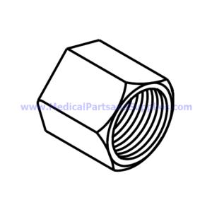 "Compression Nut (5/16""), Part RPF221"
