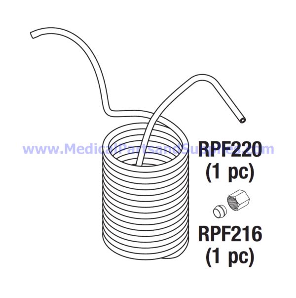 Condensation Coil for the Tuttnauer® 3850 and 3870 Series Autoclaves, Part TUC145 (OEM Parts CMT387-0029 and CC836101)
