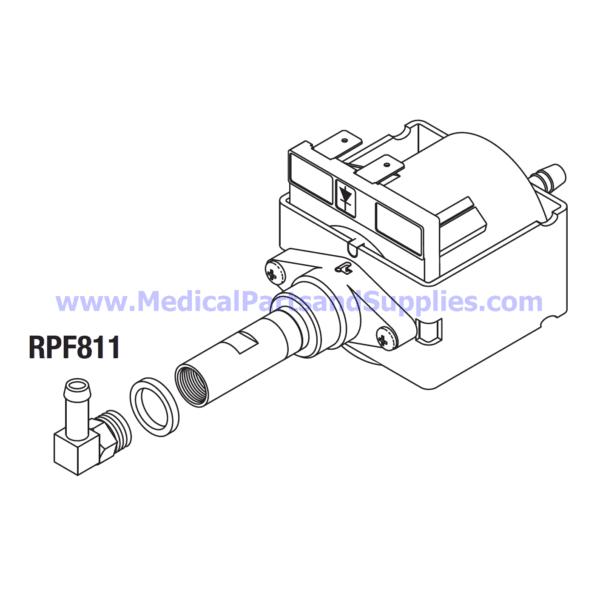 Water Pump (220VAC), Part TUP090 (OEM Part PUM055-0014)
