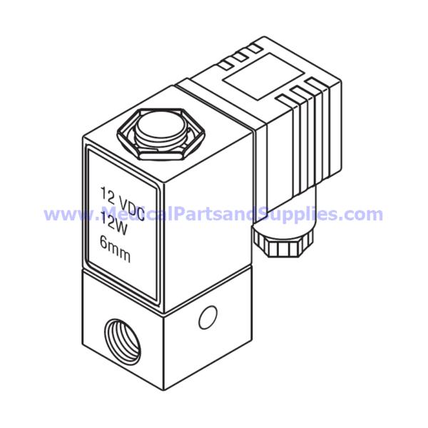 Solenoid Valve (6mm), Part TUV085 (OEM Part 01810103)