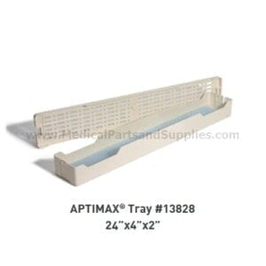 "APTIMAX® 24"" x 4"" x 2"" Instrument Trays (2 per Case), Item 13828"