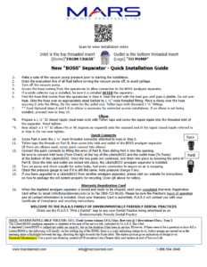 LibertyBOSS® Owner's Manual and Installation Guide