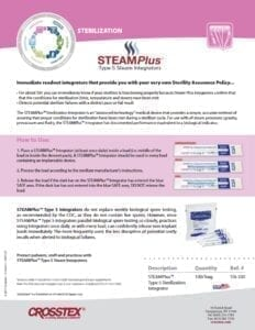 STEAMPlus™ Product Information Sheet