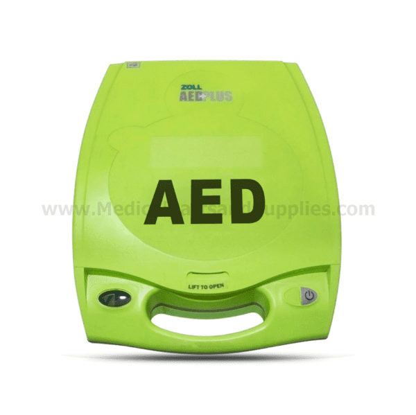 ZOLL AED Plus® Defibrillator with Real CPR Help, Item 21000010102011010