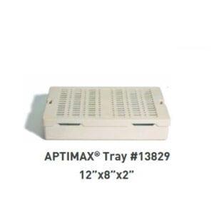 "APTIMAX® 12"" x 8"" x 2"" Instrument Trays (2 per Case), Item 13829"