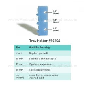 APTIMAX® Tray Instrument Holders (4 per Pack), Item 99406