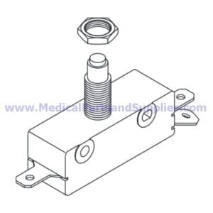 Door Switch for Tuttnauer® Autoclaves, Part TUS014 (OEM Part 01910190)