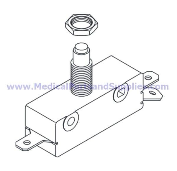 Door Switch for Tuttnauer® Autoclaves, Part TUS014 (OEM Part 01910190)