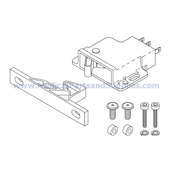 Door Latch Kit for the Sterrad® NX, Part SDK053 (OEM Part 74-51398-001 and 74-51398)