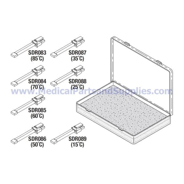 Calibration Resistor Kit for the Sterrad® NX, Part SDK069 (OEM Part 04-52695-0-001)