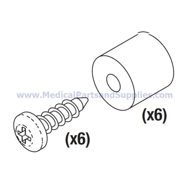 Spacer Electrode for the Sterrad® NX, Part SDS013 (OEM Part 33-51158-0-001)