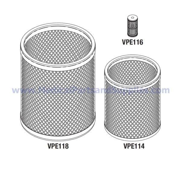 Filter Kit, Part VPK117 (OEM Part 003750)