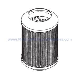 Filter Element, Part VPE115 (OEM Part 003548SP)