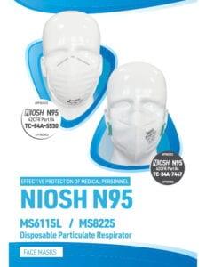 Benehal N95 NIOSH Masks Brochure