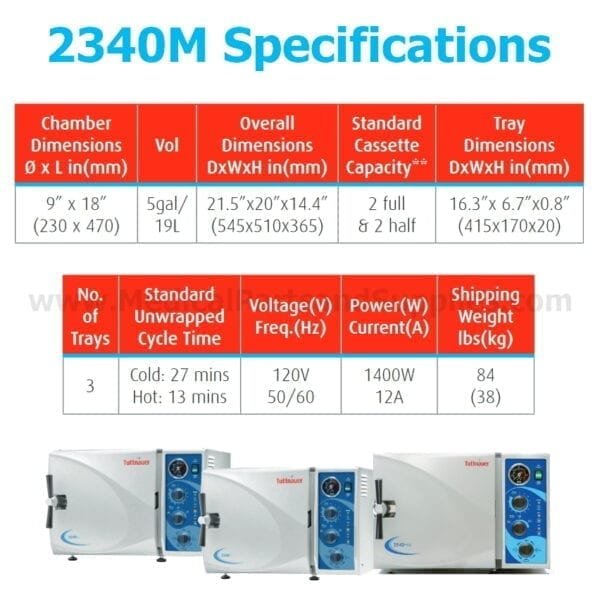 2340M Specifications