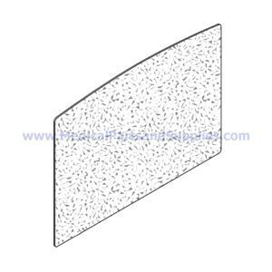 Step Cover (Grey), Part MIC295 (OEM Part 053-0848-00)