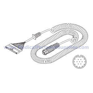 Hand and Foot Control Coiled Cord, Part MIC256 (OEM Part 015-1675-00)